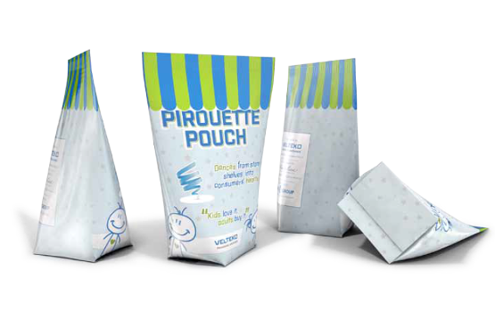 pirouette pouch