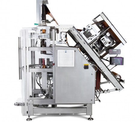 Vertical packaging machine HSV 360 side